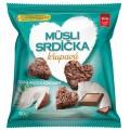 мини снеки мюсли овсяные сердечки с кокосом и шоколадом 2Go Semix 50 граммов