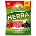 карамель жевательная со вкусом клюквы и асаи Herba 90 граммов