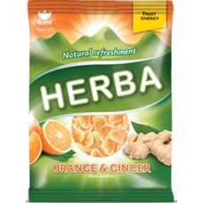 HERBA жевательная карамель апельсин и имбирь