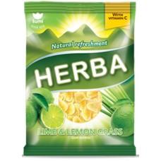 конфеты HERBA с лаймом и лимонной травой