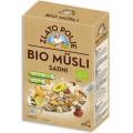 мюсли многозерновые с кусочками фруктов, медом и фундуком био Zlato Polje 375 граммов