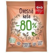 каша овсяная без сахара, производство Semix, не требующая варки, Чешская республика
