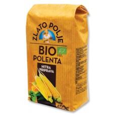 полента био крупа кукурузная быстрого приготовления Злато Поле