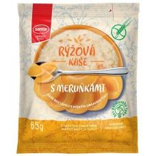 каша рисовая с абрикосом без глютена Семикс не требующая варки