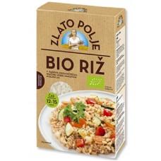 рис круглозерный био сертифицированный в вакууме Злато Поле
